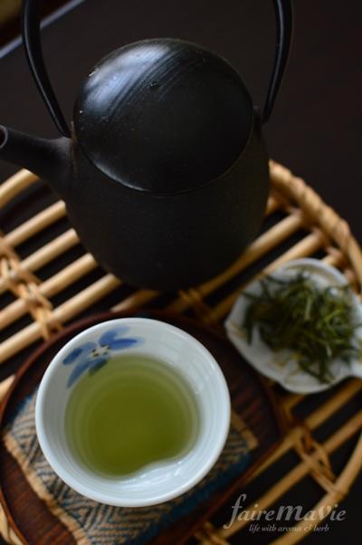 葉ショウガ茶