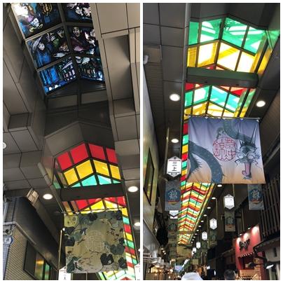 錦市場ステンドグラス