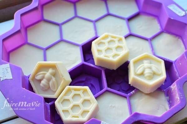 蜂のシリコンモールド